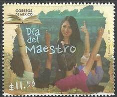 2017 MÉXICO : Día Del Maestro MNH Teacher's Day, EDUCATION, BOOK - Mexique