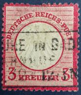 DEUTSCHES REICH 1872 - Canceled - Mi 9 - Kleines Brustschild - 3k - Allemagne