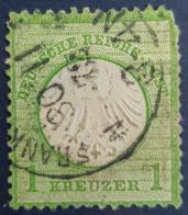 DEUTSCHES REICH 1872 - Canceled - Mi 7 - Kleines Brustschild - 1k - Oblitérés