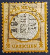 DEUTSCHES REICH 1872 - Canceled - Mi 18 - Grosses Brustschild - 1/2g - Gebraucht