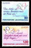 LIECHTENSTEIN 1995 Nr 1103-1104 Postfrisch SA18E36 - Liechtenstein
