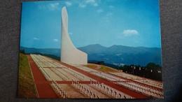 CPSM NECROPLOLE NATIONALE DE STUTHOF MEMORIAL DE LA DEPORTATION CIMETIERE CAMP NAZI DE CONCENTRATION GUERRE 45 - Guerre 1939-45