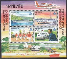 1985  YVERT Nº HB 8 MNH,  5 Años De Independencia; EXPO Especial '85, Tsukuba - Vanuatu (1980-...)