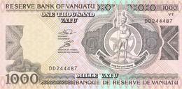 VANUATU 1000 VATU 1993 PICK 6 UNC - Vanuatu
