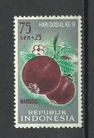INDONESIEN Indonesia 1961 Michel 321 Mango MNH - Indonesia
