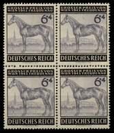 3. REICH 1943 Nr 857 Postfrisch VIERERBLOCK X756402 - Germany