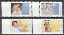 1988  YVERT Nº 818 / 821  MNH,  Navidad, Canciones Navideñas - Vanuatu (1980-...)