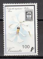 1989  YVERT Nº 836  MNH, Barcos,  Exposición Internacional De Sellos STAMP EXPO '89, Washington - Vanuatu (1980-...)