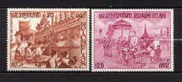 LAOS - AA94/95**  - FÊTE RELIGIEUSE DE THATLUANG - Laos