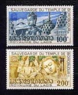 LAOS - 287/288**  - U.N.E.S.C.OP. - Laos