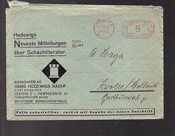 Chess Schachliteratur 1936 Hedewigs Curt Ronniger > Zwolle Holland A. Haga (824) - Alemania
