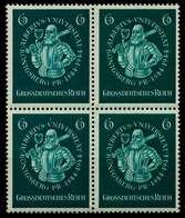 3. REICH 1944 Nr 896 Postfrisch VIERERBLOCK S60C46A - Germany