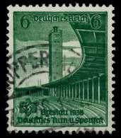 3. REICH 1938 Nr 666 Zentrisch Gestempelt X860E06 - Oblitérés