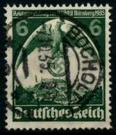 3. REICH 1935 Nr 586X Zentrisch Gestempelt X86105A - Germany