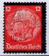 3. REICH 1934 Nr 552 Zentrisch Gestempelt X8645DA - Oblitérés