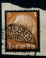 3. REICH 1934 Nr 548 Gestempelt Briefstück Zentrisch X864626 - Oblitérés
