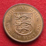 Jersey 2 New Pence 1971 KM# 31 *V2 - Jersey