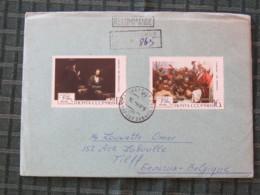 Ukraine (USSR) 1969 Cover To Belgium - Paintings - 1923-1991 USSR