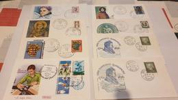 LOT ENV.  ITALIE  FDC - Collections (sans Albums)