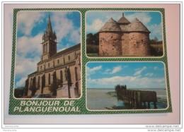 TEL1 -  DEPT22 -   Planguenoual -    Bonjour De Planguenoual - Francia