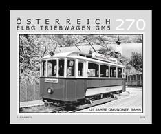 Austria 2019 Mih. 3476 Gmunden Tramway (black Proof) MNH ** - 1945-.... 2ª República