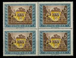 3. REICH 1943 Nr 828 Postfrisch VIERERBLOCK X7802D2 - Allemagne