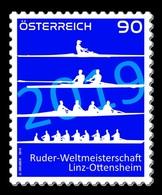 Austria 2019 Mih. 3478 World Rowing Championships In Ottensheim MNH ** - 1945-.... 2nd Republic