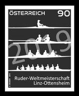 Austria 2019 Mih. 3478 World Rowing Championships In Ottensheim (black Proof) MNH ** - 1945-.... 2. Republik
