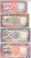SUDAN 5 10 20 50 POUNDS 1991 P-45 46 47 48 UNC SET */* - Sudan