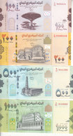 YEMEN 100 200 500 1000 RIAL 2017 2019  P- NEW UNC SET LOT  */* - Yemen