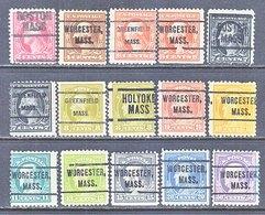 U.S. 499 +   Perf. 11  (0)   MASS.  1917-19 Issue - Precancels