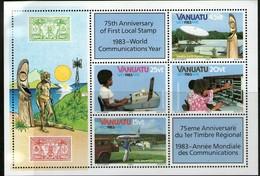 VANUATU 1983 ANNEE DES TELECOMS YVERT  N°B5  NEUF MNH** - Vanuatu (1980-...)
