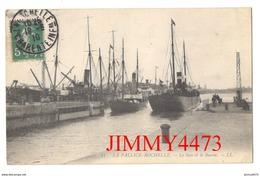 CPA - LA PALLICE - ROCHELLE - Bateaux Dans Le Sass Et Le Bassin En 1910 - 17 Charente Maritime - N° 21 - L L - La Rochelle