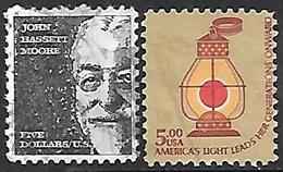 US 1973 & 1979   $5  Used - Estados Unidos