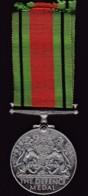 The Defense Medal Unnamed Original - United Kingdom