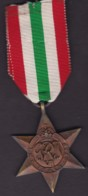 The Italy Star Unnamed Original - United Kingdom