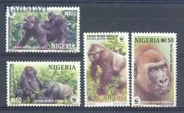Nigeria 2008 Mi 808-811 MNH ( ZS5 NGA808-811 ) - Singes
