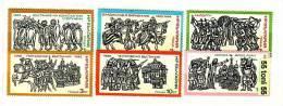 Bulgaria / Bulgarie   1975 History Woodcuts 6v.- MNH - Bulgaria