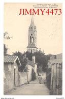 CPA - SAINT GEORGES - Le Clocher Et Place Du Marché En 1907 - Env. De ROYAN 17 Charente Maritime - N° 89 - France