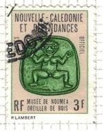 NOUVELLE CALEDONIE              N°     YVERT    SERVICE  15   OBLITERE       ( Ob  5/23 ) - Dienstpost