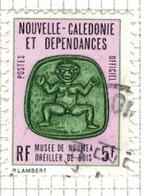 NOUVELLE CALEDONIE              N°     YVERT    SERVICE  17   OBLITERE       ( Ob  5/23 ) - Dienstpost