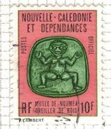 NOUVELLE CALEDONIE              N°     YVERT    SERVICE  19   OBLITERE       ( Ob  5/23 ) - Dienstpost