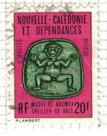 NOUVELLE CALEDONIE              N°     YVERT    SERVICE  23   OBLITERE       ( Ob  5/23 ) - Dienstpost