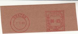 Aden / Crater Meter Mail Proofs - Francobolli