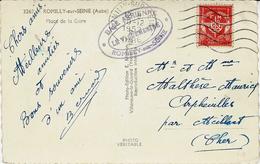 "1952- C P A  Affr. F¨M De "" BASE AERIENNE / ROMILLY-SUR-SEINE  "" - 1921-1960: Periodo Moderno"