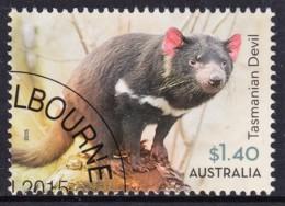 Australia 2015 Wildlife $1.40 Tasmanian Devil CTO - 2010-... Elizabeth II