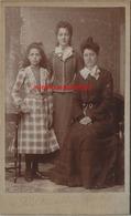 CDV Vers 1890-beaux Costumes Pour Cette Famille-mode-photo  Letrouvé-Lalouette Le Havre - Anciennes (Av. 1900)