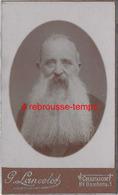 CDV  Personnage De Caractère Très Grande Barbe-dédicacé Et Signé-par G. Lancelot à Chaumont - Anciennes (Av. 1900)