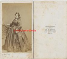 CDV Mode Second Empire-femme Plantureuse-photo Mulot à Paris - Photographs