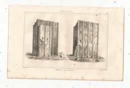 Gravure , France XII E Siècle, Chateau De LOCHES, Gaucherel, Lemaitre, 263, Frais Fr : 1.65 E - Estampes & Gravures